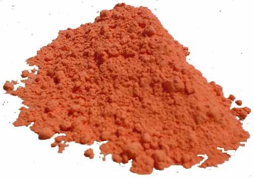 pigments à la chaux